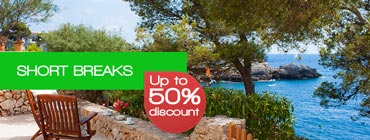 Short breaks in Mallorca up to 50% discount