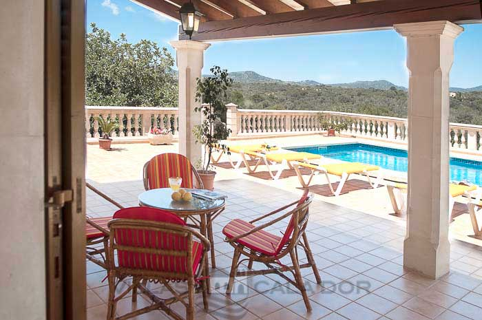 Holiday country house with pool in Majorca