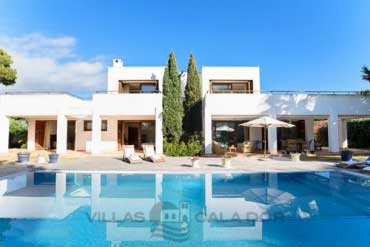 villa with gated pool in Majorca