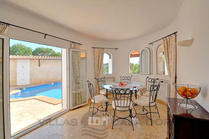 3 bedroom villa for rent in Majorca with pool