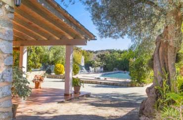 Country house  Sasini to rent in Buger,  Mallorca 3  bedrooms