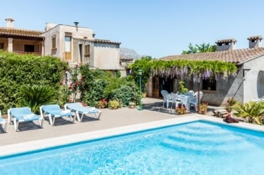 Country house Panada to rent in Pollensa, mallorca 3 bedrooms