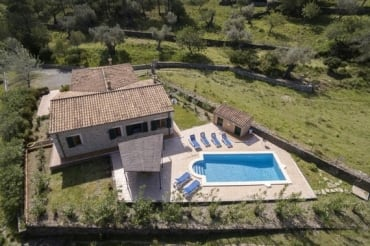 Country house  Bosch to rent in Pollensa,  Mallorca 3  bedrooms